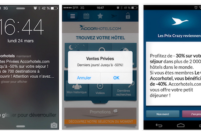 Accor unifie ses outils de marketing mobile en mode push pour toutes ses marques