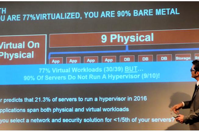 Cisco : « seulement 20% des serveurs font de la virtualisation »