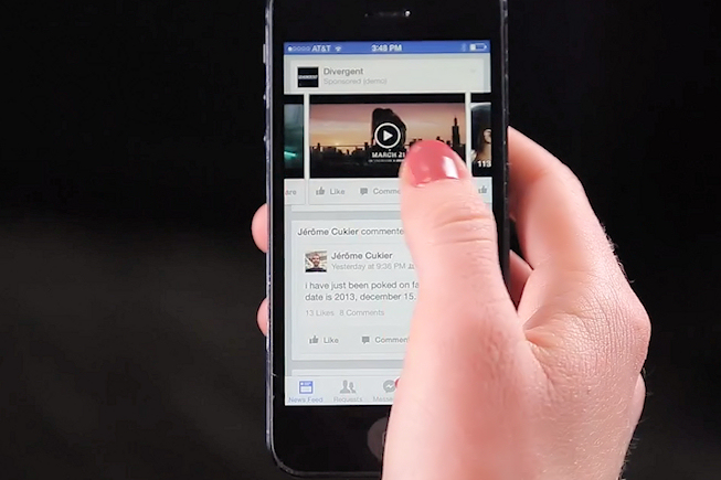 Facebook décolle grâce à la publicité sur mobile