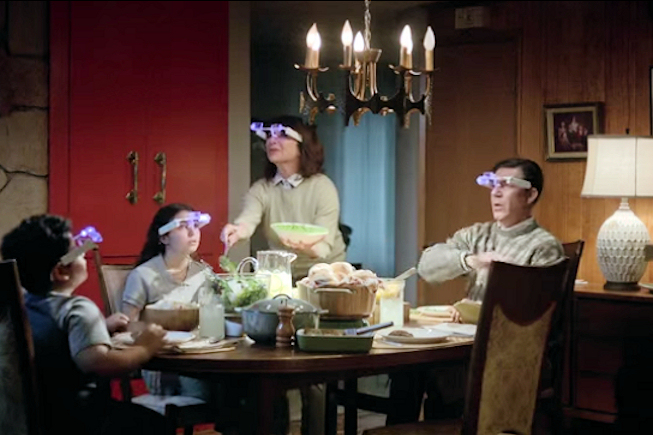 Google Glass - A table - BF