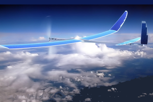 A solar-powered drone by Titan Aerospace. (Titan Aerospace photo)