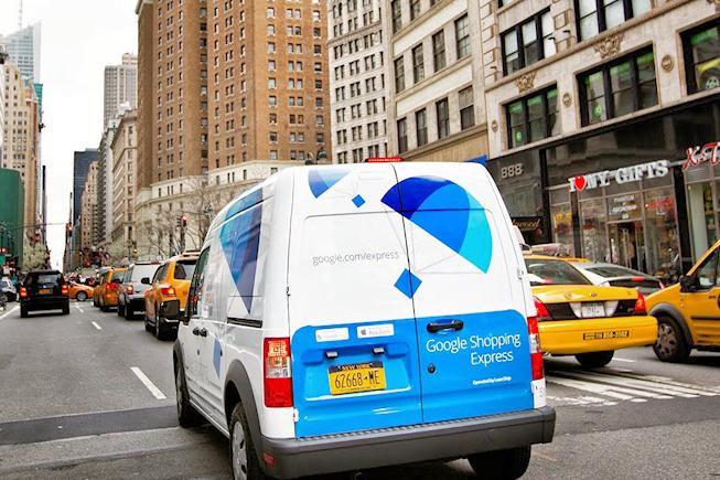 Google shopping Express - New York - BF