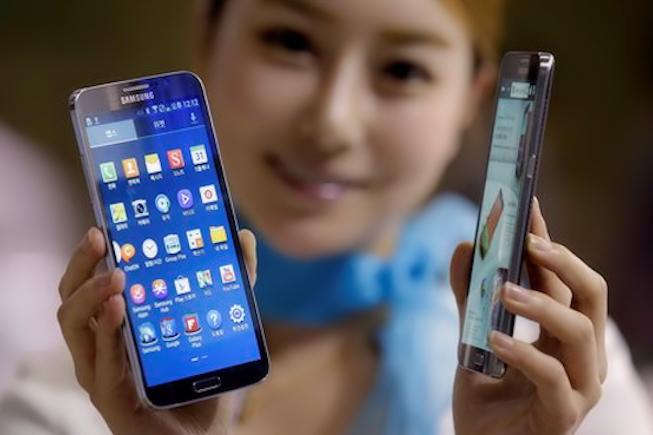 30% de smartphones vendus en plus au 1er trimestre 2014