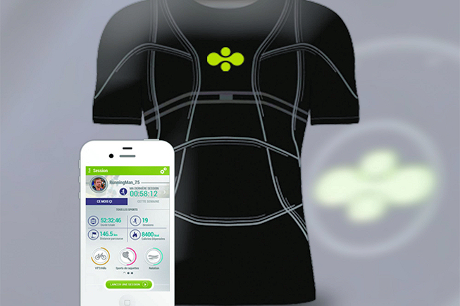 T-Shirt Connecté - Cityzen Sciences - BF