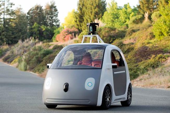 Google présente le prototype de sa voiture sans chauffeur