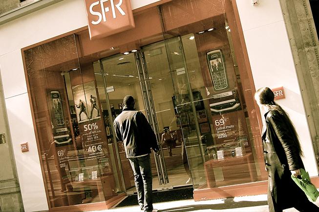 Panne du réseau mobile de SFR sur plusieurs départements