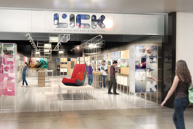 Lick, la première chaine de magasins spécialisée dans les objets connectés