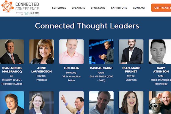 La Connected Conférence : 18 et 19 Juin à Paris, sur les objets connectés et l'impression 3D