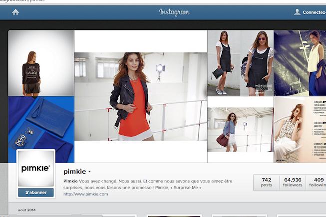 Instagram : le réseau social où les commerçants ont des places à prendre