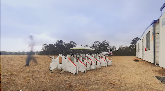Drones Google - Australie -