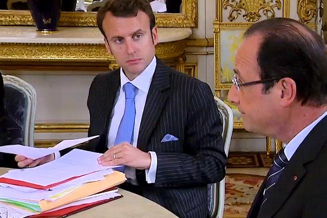 Emmanuel Macron et Axelle Lemaire aux commandes du numérique français
