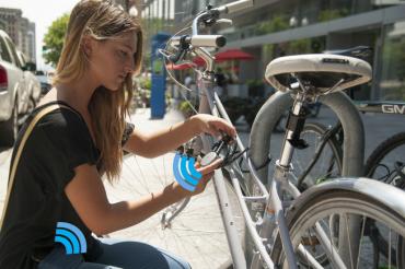 Noke, le premier cadenas connecté au smartphone via bluetooth