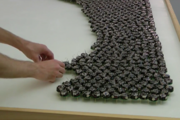 Coopération entre robots pour créer des formes suite à une étude de Harvard