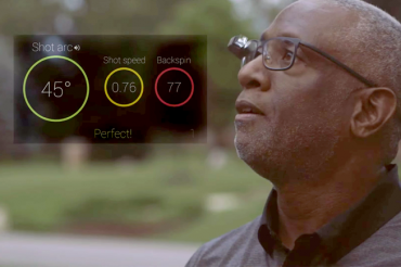 Le ballon de basket ball connecté disponible sur Google Glass