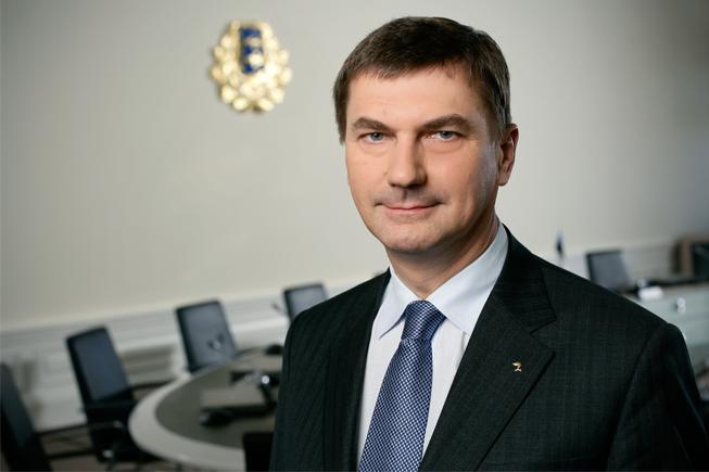 Andrus Ansip, le nouveau dirigeant du numérique pour l'Europe