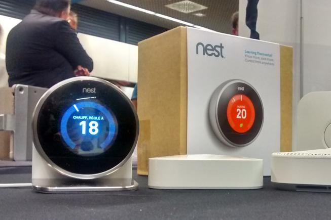 Thermostat Nest et alarme incendie Protect de Google