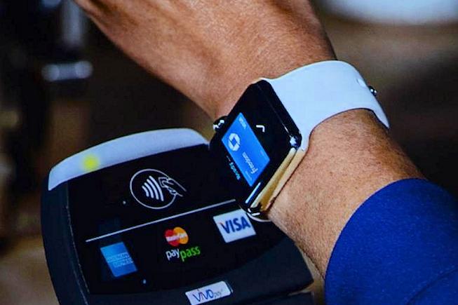 Paiement mobile Apple Watch - BF