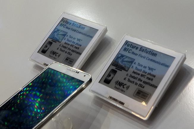 Des étiquettes NFC