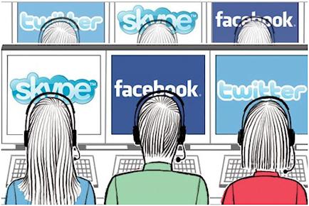 Supervision réseaux sociaux