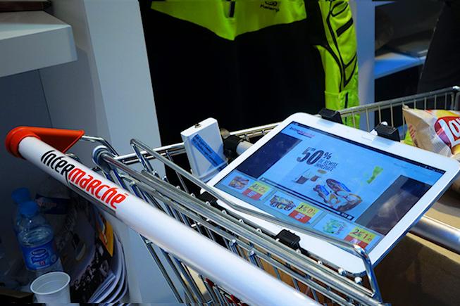 Intermarché testera le Lifi en janvier dans un de ses supermarchés