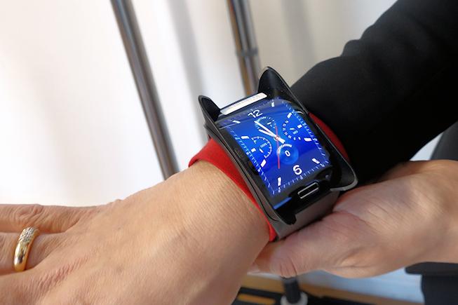 Axa et la montre Gear S de Samsung