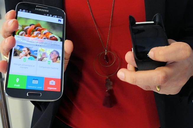 Dialogue entre l'App de santé et la montre