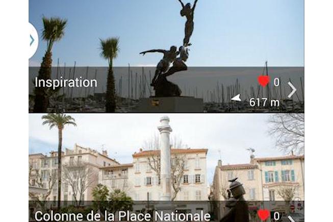 Antibes expérimente la visite des monuments historiques repérés par Beacon
