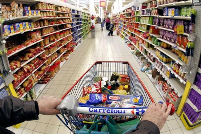 Carrefour dans l'observation en ce qui concerne le mobile