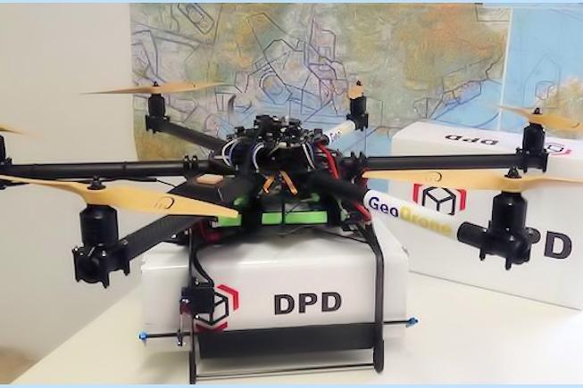 Livraison automatisée par drone validée par La Poste