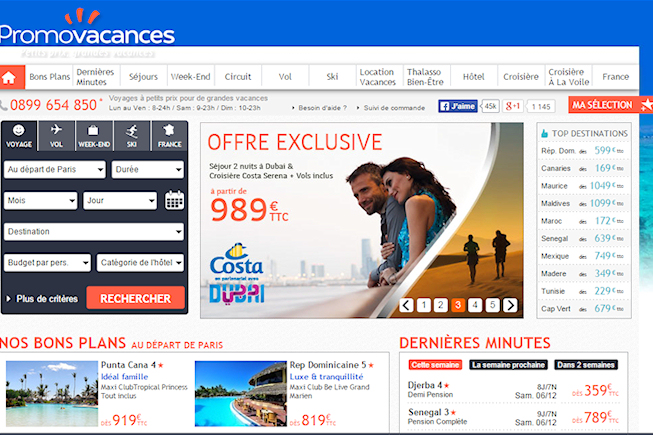 Le site de e-tourisme Promovacances se prépare au Big Data