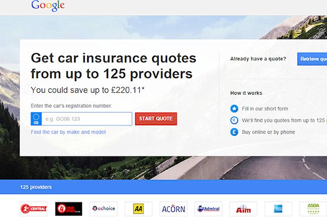 Google s'apprête à vendre de l'assurance autoaux Etats Unis