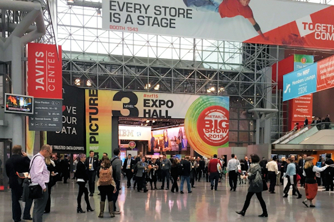 NRF Big Show 2015 : l'omnicanal, la clé du commerce