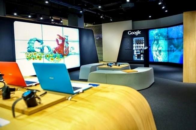 Google a ouvert son premier magasin physique à Londres