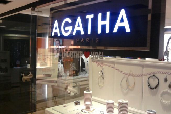 Agatha propose la e-réservation de bijoux de mode