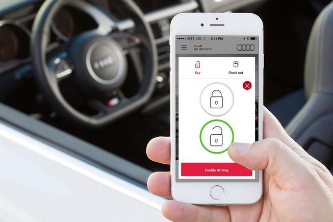 Audi se lance dans la location de voiture à la demande via le mobile