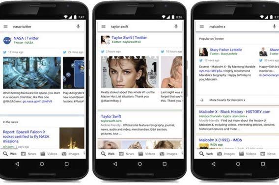 Les Tweets vont réapparaître dans les recherches Google