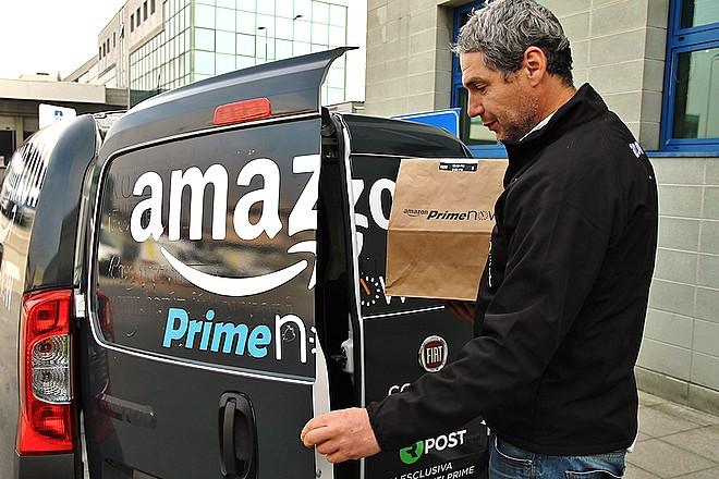 Amazon livre les fruits et légumes frais à domicile à Milan