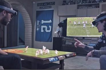 Le Super Bowl 2016 en réalité augmentée avec les Hololens de Microsoft