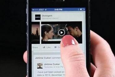 Facebook a exagéré la durée de visionnage des vidéos publicitaires sur son site