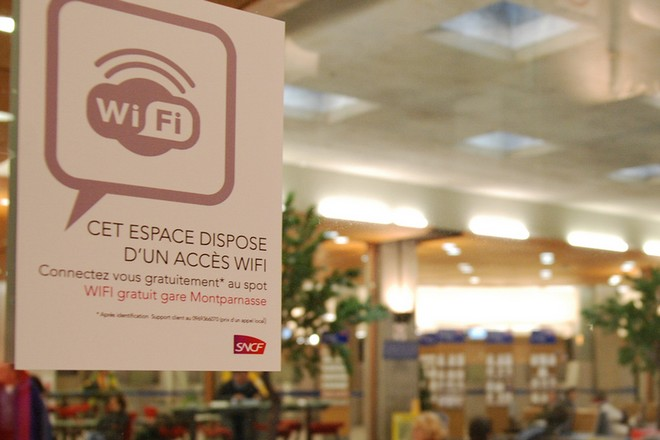 Wifi en gare - BF2