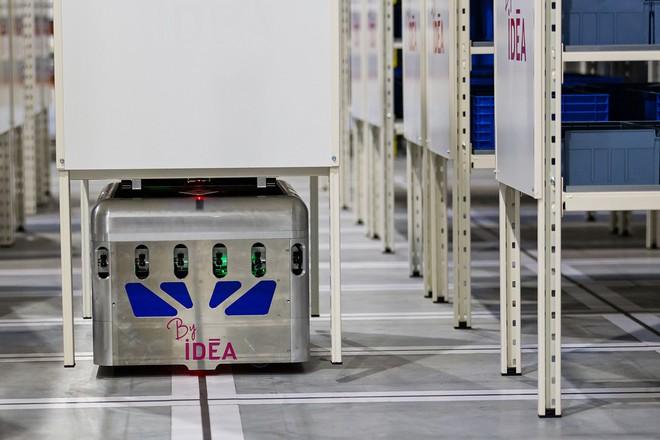 Un robot livreur de pièces détachées chez Airbus pour gagner 30% de productivité