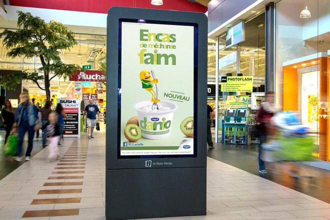"""Auchan : """"+30% à +40% de ventes pour les annonceurs grâce à nos dispositifs média et à nos datas clients"""""""