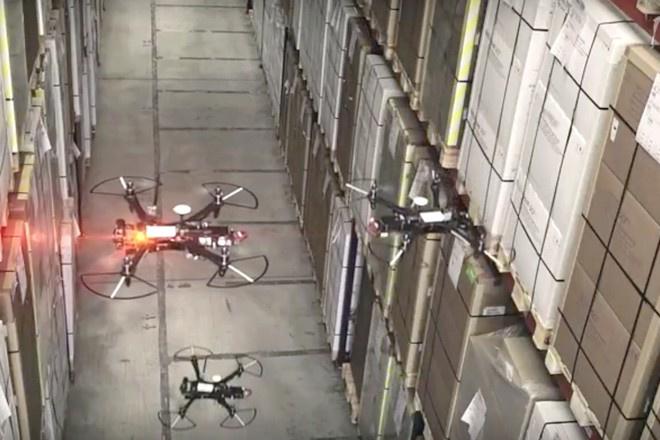 Le n°1 mondial de la distribution Walmart teste des drones pour accélérer l'inventaire de ses stocks