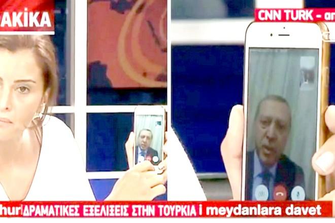 Erdogan monte au créneau avec Facetime d'Apple pour déjouer le coup d'état turc
