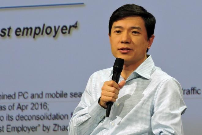 """""""Plus vous êtes optimiste, plus vous êtes innovant,"""" pour le PDG de Baidu, le Google chinois"""