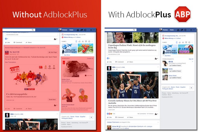 Facebook et Adblock Plus jouent au chat et à la souris sur le blocage des publicités