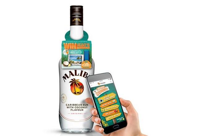 Pernod Ricard se connecte à ses clients via des bouteilles de Malibu NFC