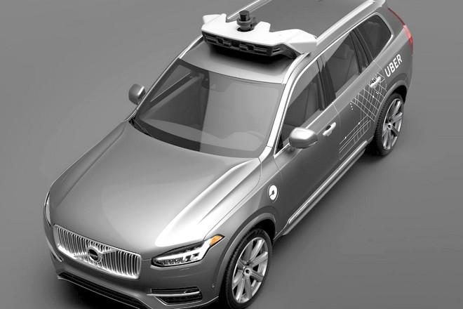 Véhicule Uber - Autonome - BF2