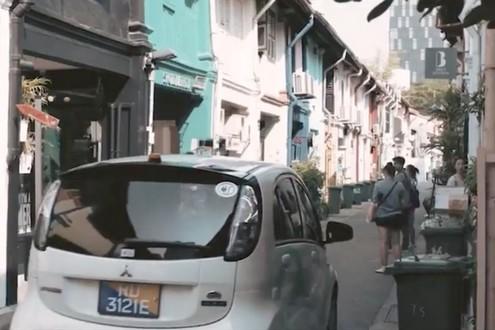 Véhicule autonome Singapour - BF3