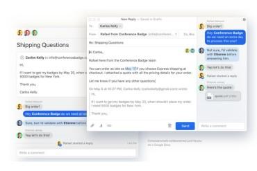Missive App, l'email qui marche pour du travail en groupe et démode Slack